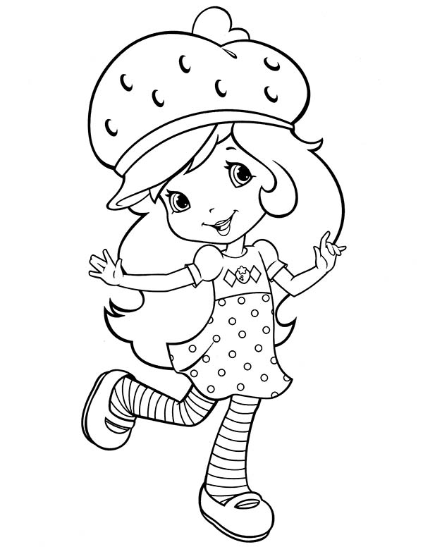 Awesome Strawberry Shortcake Coloring Page: Awesome Strawberry ...