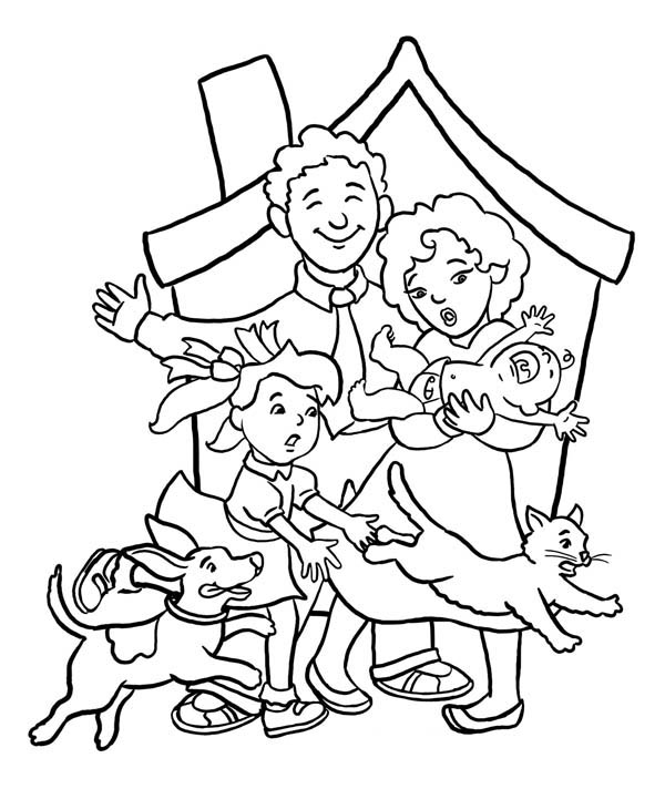 Get Free High Quality HD Wallpapers Coloring Pages Family Members