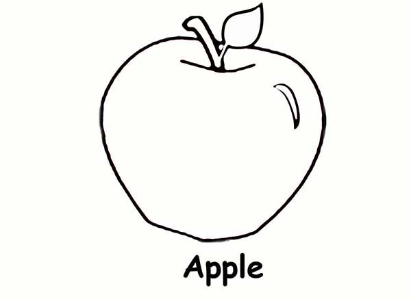 Printable 36 Apple Coloring Pages 735 Coloring Pages Of Apples