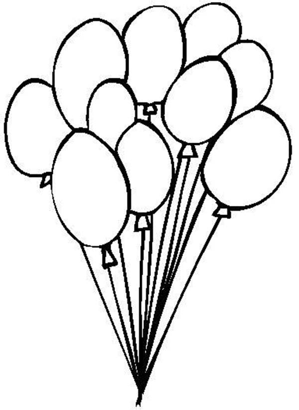 balloon for sale coloring page coloring sky