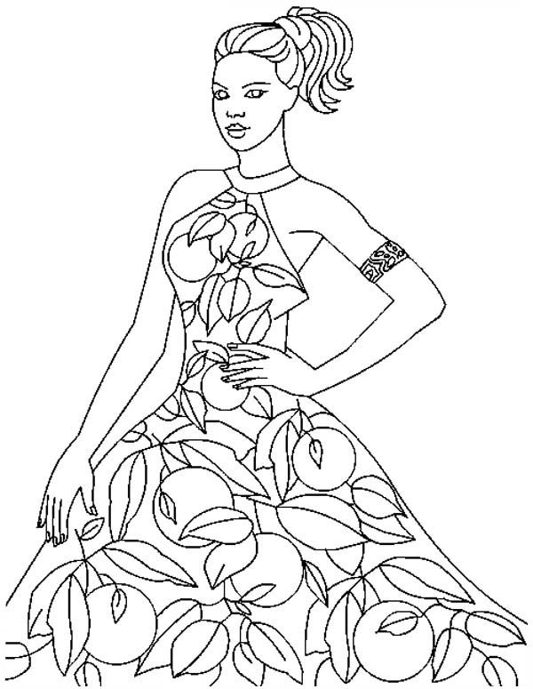 model coloring pages - photo#29