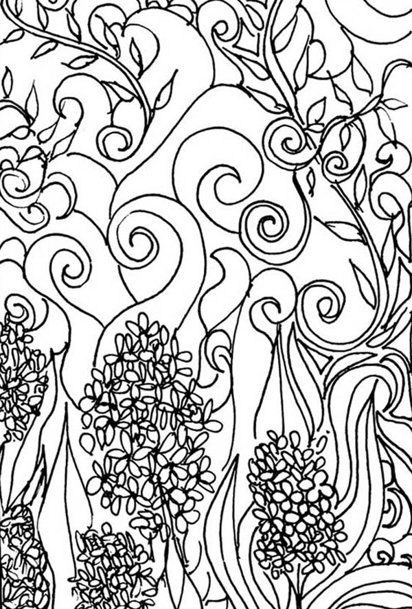 Deviant Art of Lilac Coloring Page