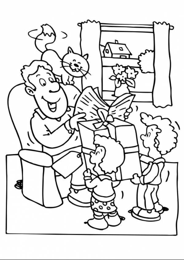 free family activities coloring pages - photo#10