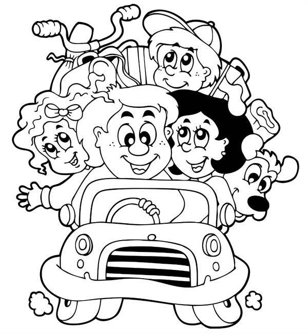 free coloring pages road - photo#18