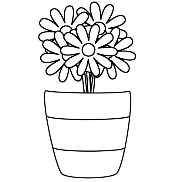 v is for vase coloring pages - photo #35