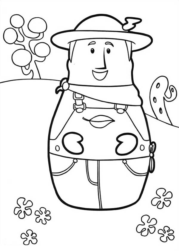 forest ranger coloring pages - photo#13