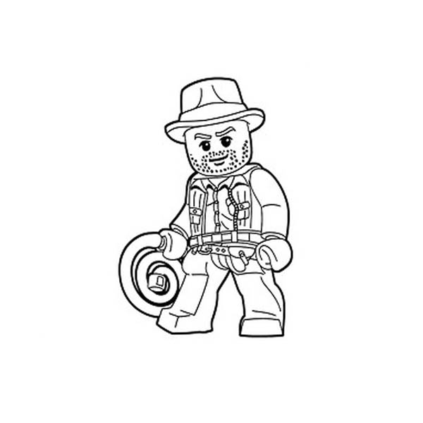 coloring pages indiana jones - photo#25