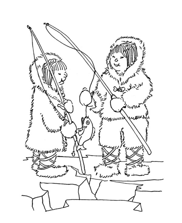 inuit coloring pages - photo#22