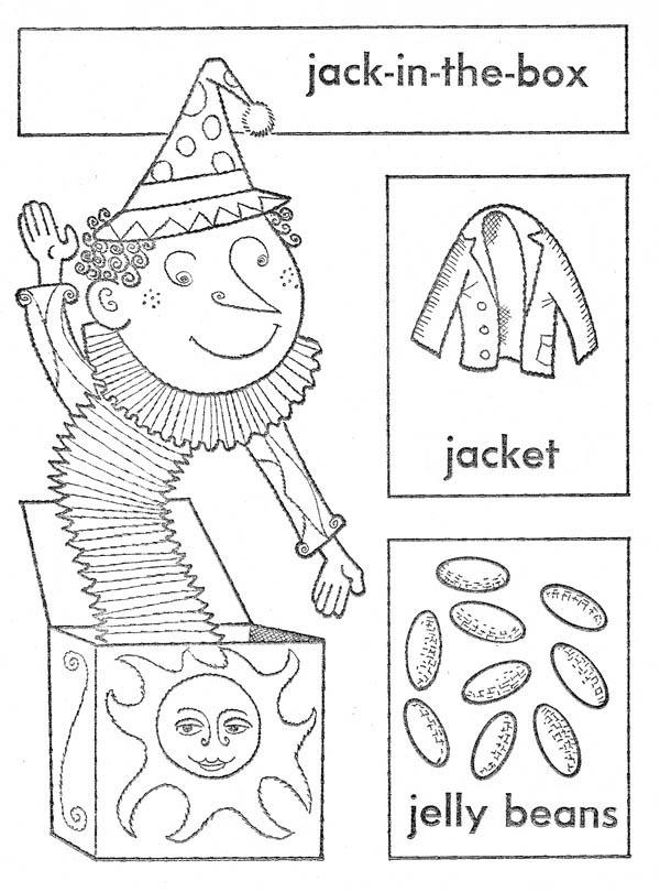 Jackinthebox coloring page  Coloringcrewcom