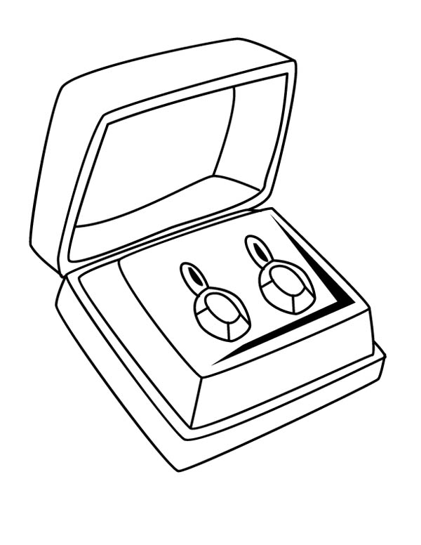 jewlery coloring pages - photo#7