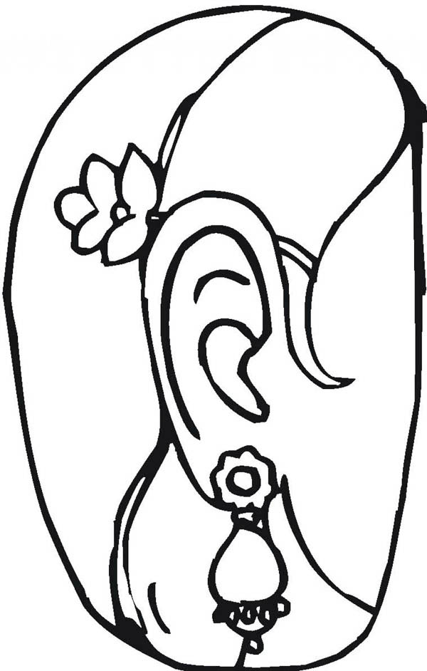 Precious jewelry coloring page coloring sky for Jewelry coloring pages