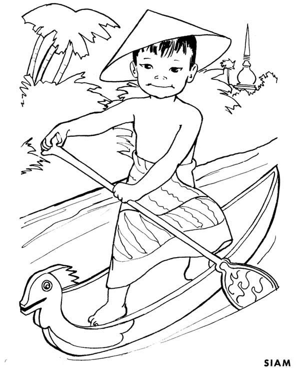 thailand coloring pages - photo#7