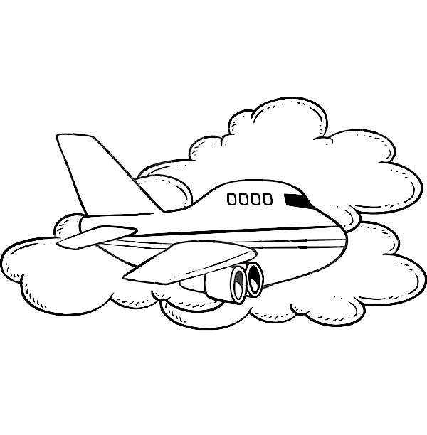free coloring pages of airport