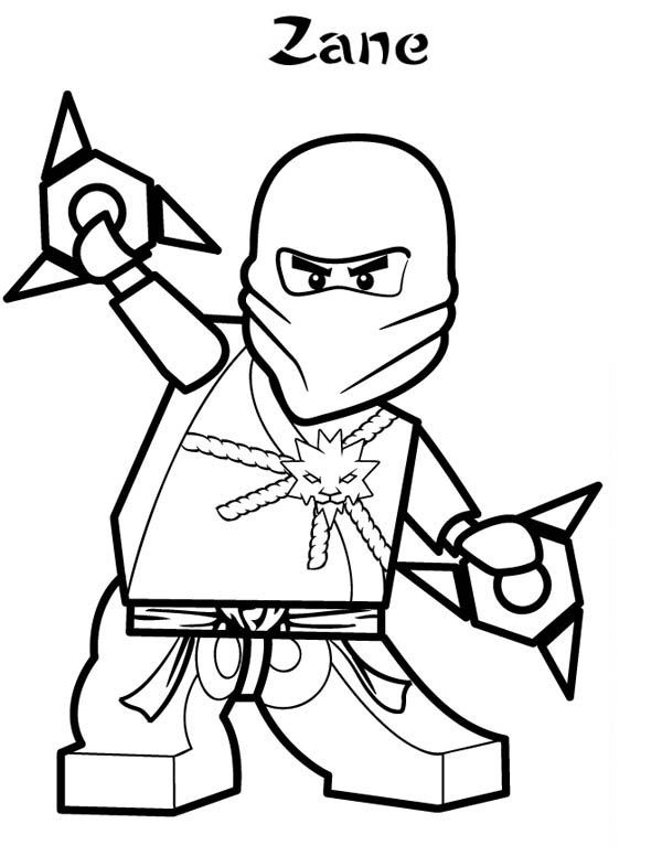 zane ninjago coloring pages - photo#26