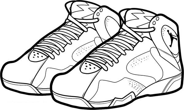 Air Jordan Bordeaux Shoes Coloring