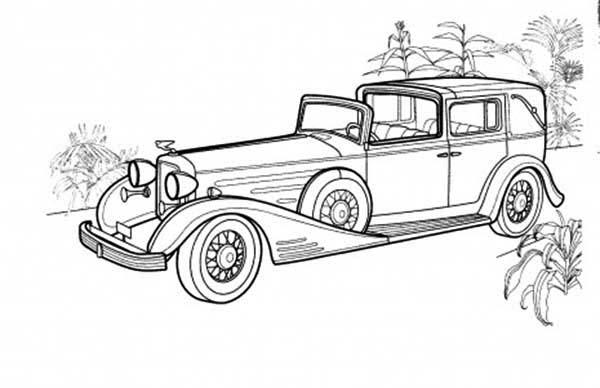 Cadillac Eldorado Cars Coloring Pages Sketch Coloring Page