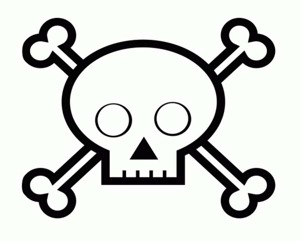 Kids Drawing Skull Coloring Page  Coloring Sky
