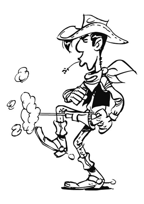 Lucky From Survivors Coloring Pages Coloring Pages