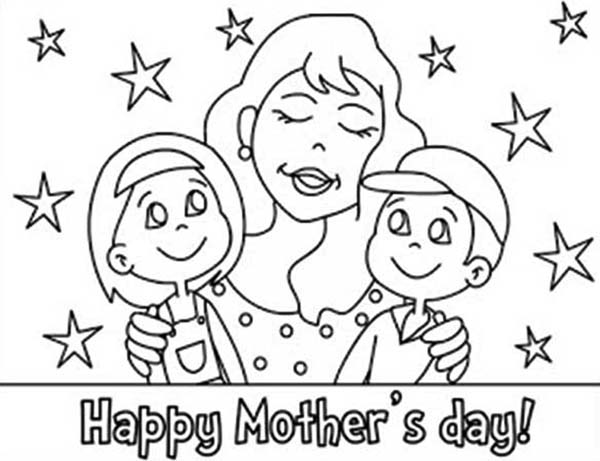 moms i love you and happy mothers day coloring page coloring sky