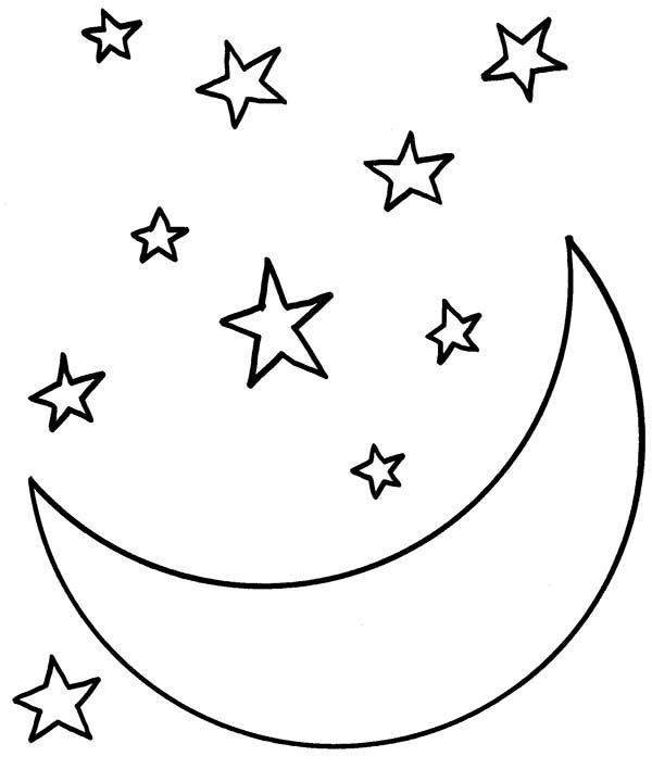 free night coloring pages - photo#15