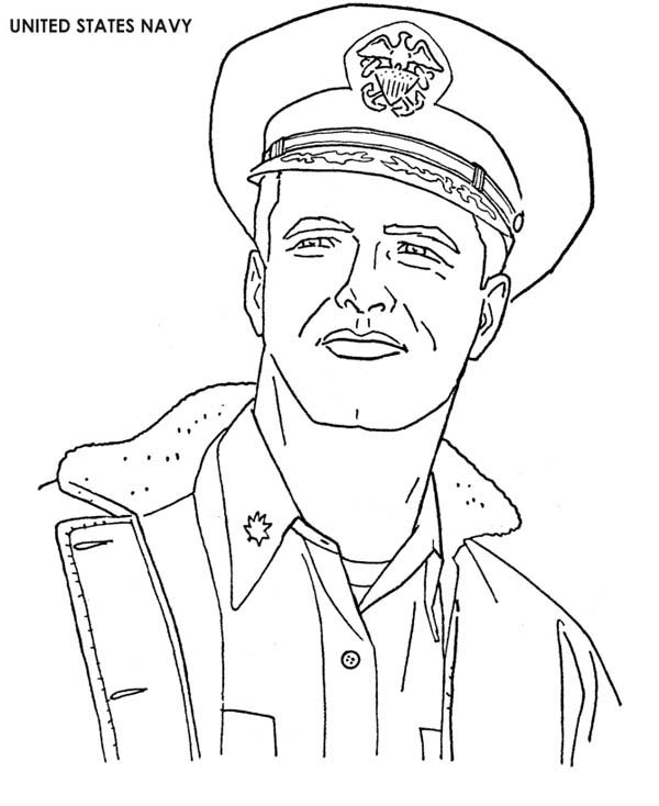 Us navy sailor coloring pages coloring pages for Navy sailor coloring pages