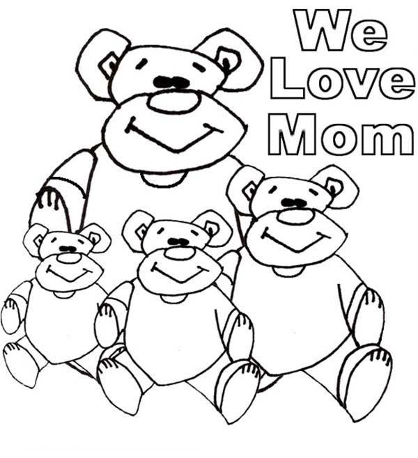 We love moms coloring page coloring sky for We love you coloring pages