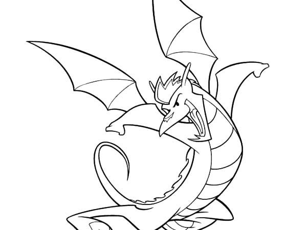 American Dragon Coloring Pages  Coloring Sky