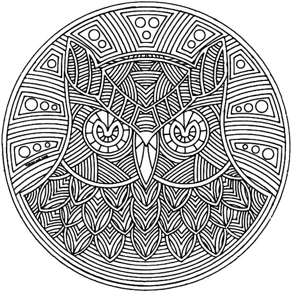 easy abstract coloring pages - photo#9