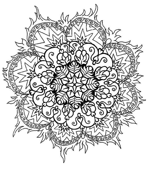 Simple Abstract Coloring Pages Coloring Sky