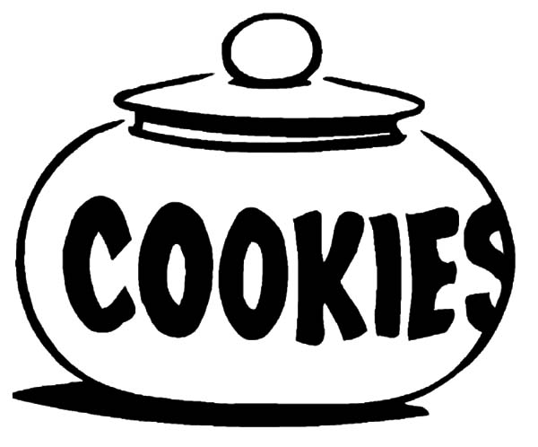 cookie jar coloring pages - Cookie Monster Face Coloring Page