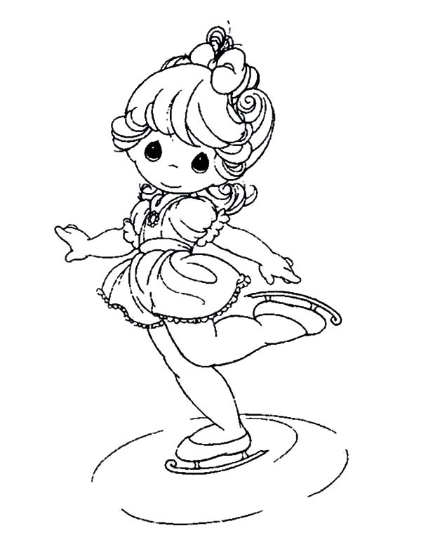 cute little girl coloring pages - photo#20