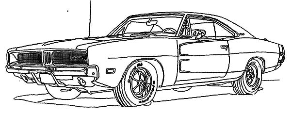 Dodge Car RX 1500 Coloring Pages Coloring Sky