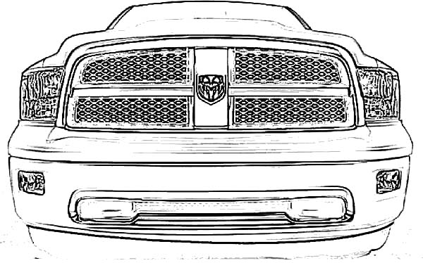 dodge car hemi charger 1968 coloring pages  dodge car hemi