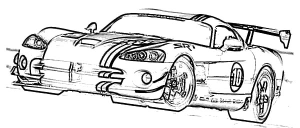 dodge charger police car coloring pages
