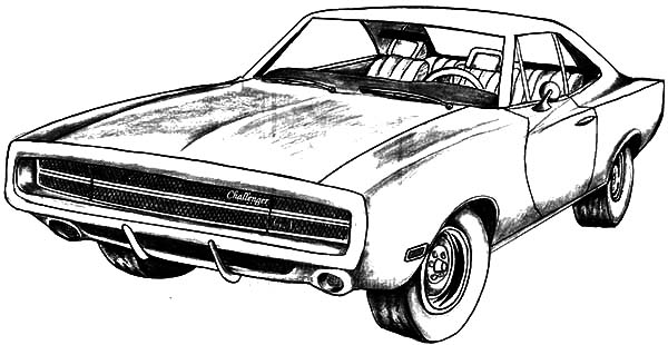 dodge car longhorn truck coloring pages  dodge car