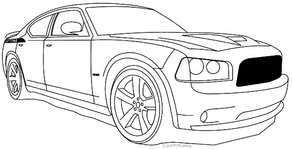 Dodge Daytona Car Coloring Pages Coloring Sky
