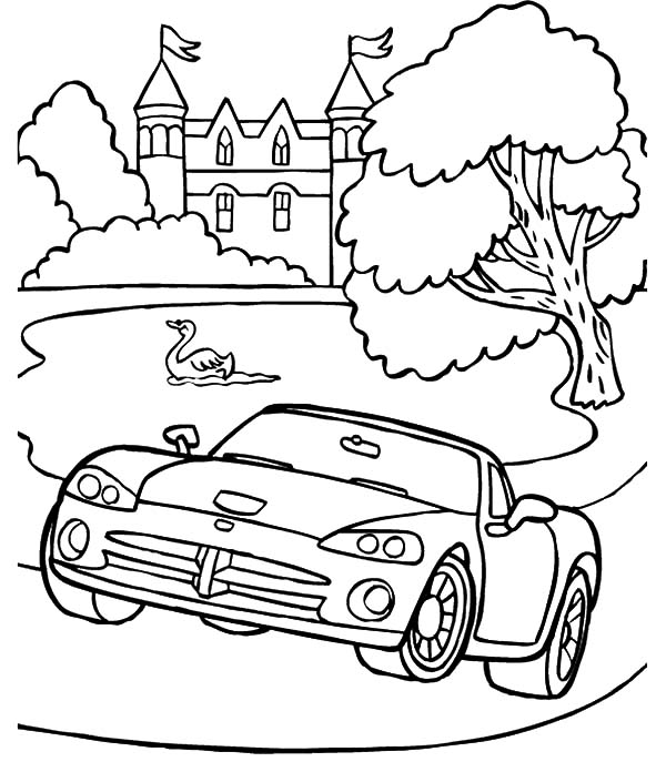 Coloring Pages Model T Ford : Classic car coloring pages : ukrobstep.com
