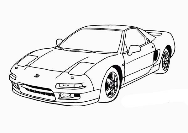 Drawing Dodge Car Coloring Pages Drawing Dodge Car