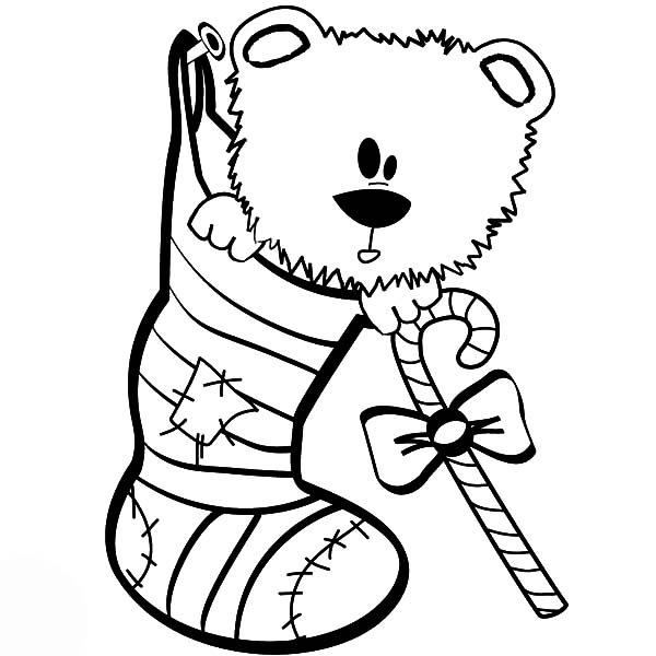 The best place for coloring page at coloringsky part 16 for Christmas socks coloring pages