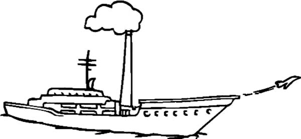 aircraft carrier jet takes off from aircraft carrier coloring pages jet takes off from