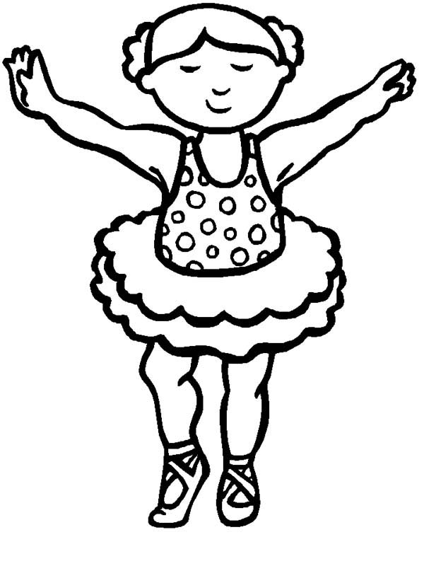 little girl practice ballet coloring pages - Coloring Pages For Little Girls