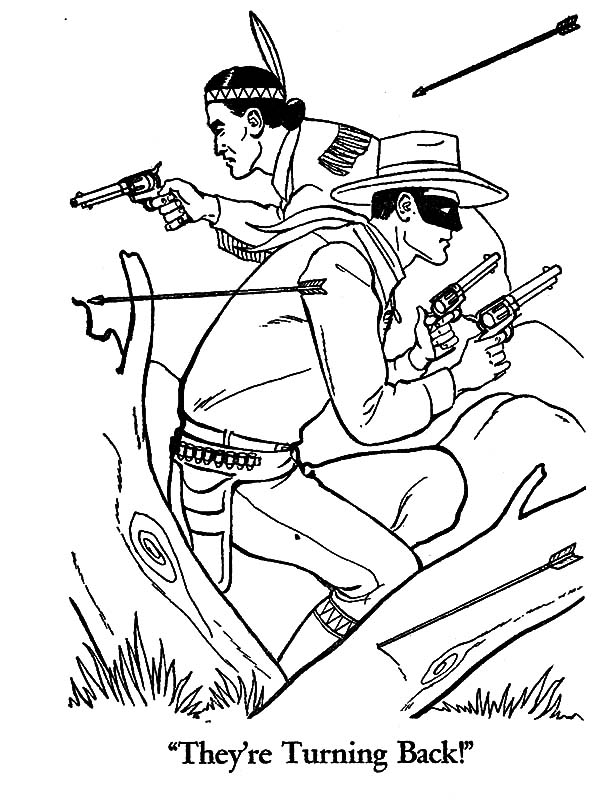 Outlaw Hunting Coloring Pages