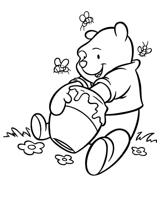 Winnie the Pooh coloring pages | Free Coloring Pages