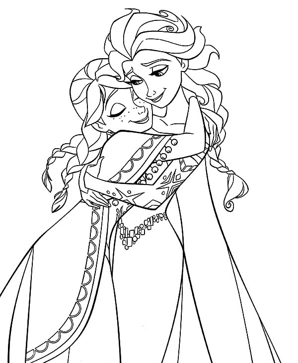Free coloring pages of princess elsa for Princess elsa coloring pages