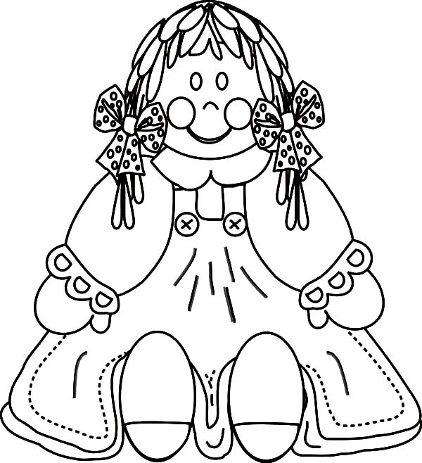 Porcelain Dolls Coloring Coloring Pages