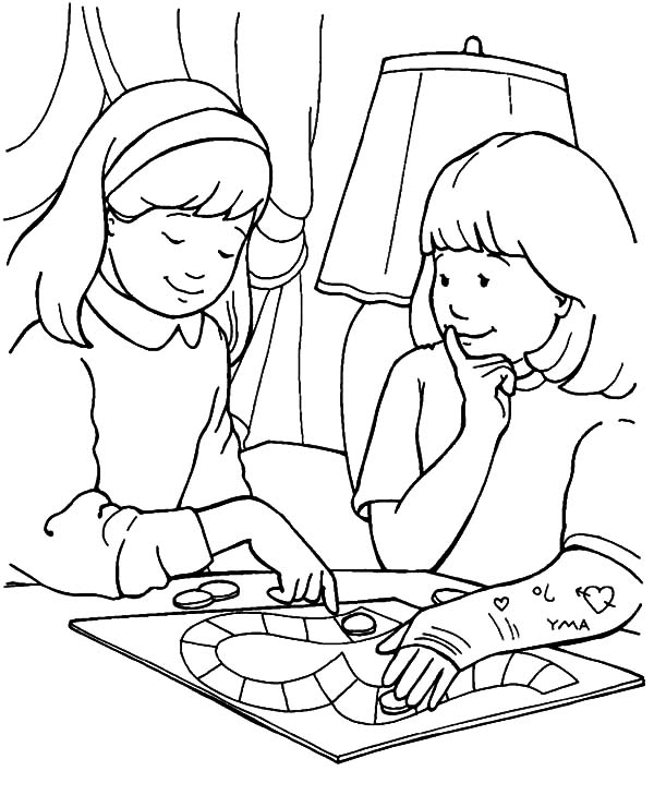 Showing Love Share Your Burden Helping Others Coloring Pages