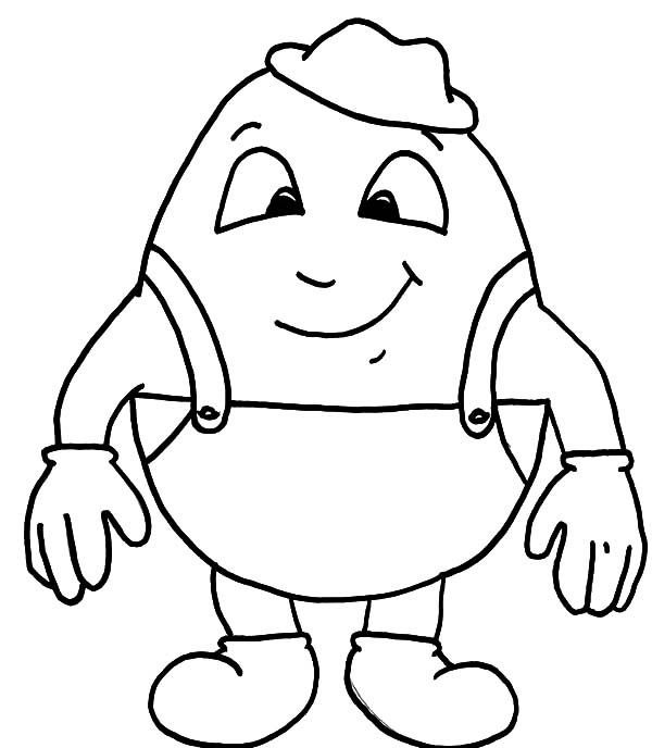 humpty dumpty coloring pages - photo#25
