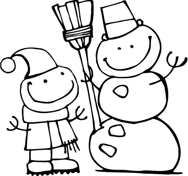Coloring pages winter snowman holidays coloring pages coloring