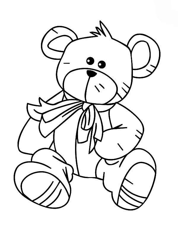 Holidays Teddy Bear Eating Ice