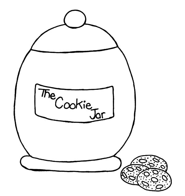 cookie jar coloring page - Engne.euforic.co